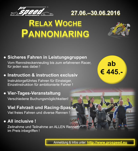 Relax Woche Pannoniaring