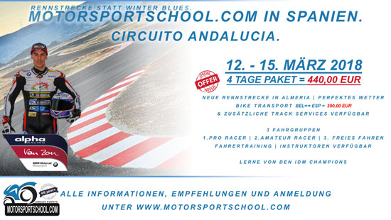 Motorsportschool in Almeria