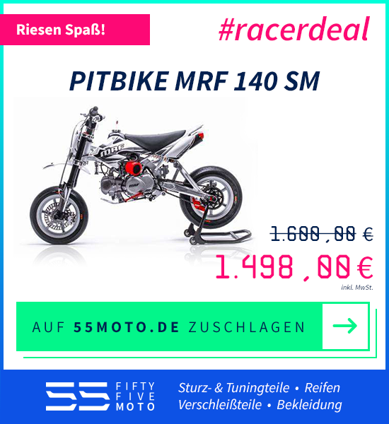 Pitbike MRF 140 SM #racerdeal