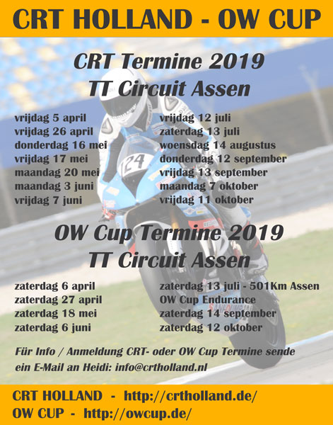 CRT Holland - OW Cup